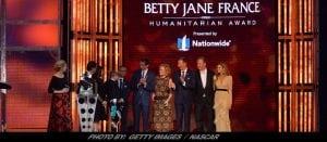 Julian Maha Wins NASCAR's Betty Jane France Humanitarian Award