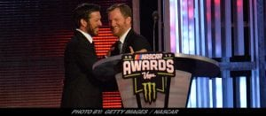 NASCAR Community Fetes Champion Martin Truex Jr.; Honors Retiring Dale Earnhardt Jr.