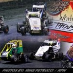 Whitey Kidd Makes Final Restart Pass On Alex Bright To Steal East Coast Indoor Dirt Nationals Checkers