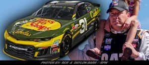Richard Childress Racing Continues Partnership With Bass Pro Shops