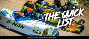 The Quick List: Young First-Year Kart Racer Deegan Nichols