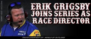 Erik Grigsby Joins World Of Outlaws Late Model Series As Race Director