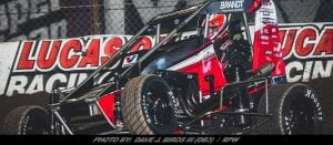 Justin Allgaier's Chili Bowl Run Ended In B-Main Saturday Night