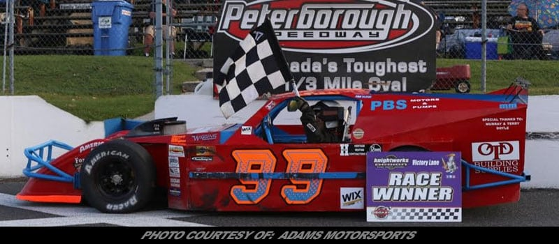 Story By: ASHLEY MCCUBBIN / ADAMS MOTORSPORTS – ORILLIA, ONT – Maintaining solid partnerships is just as important as winning, and something that ADAMS ...