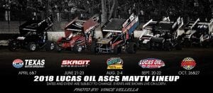 MAVTV To Air 13 ASCS National Tour Races In 2018