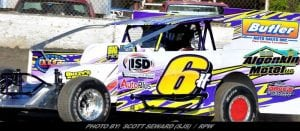 Algonkin Motel Sponsors 'Lap Down, Go-Around' At All Short Track Super Series Mod Events In '18