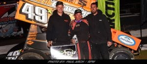 Tim Shaffer Edges Kerry Madsen To Win Night Two Of Bubba Army Winter Nationals