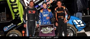 Sheldon Haudenschild Goes Wire-To-Wire To Win All Stars Finale During Bubba Army Winter Nationals