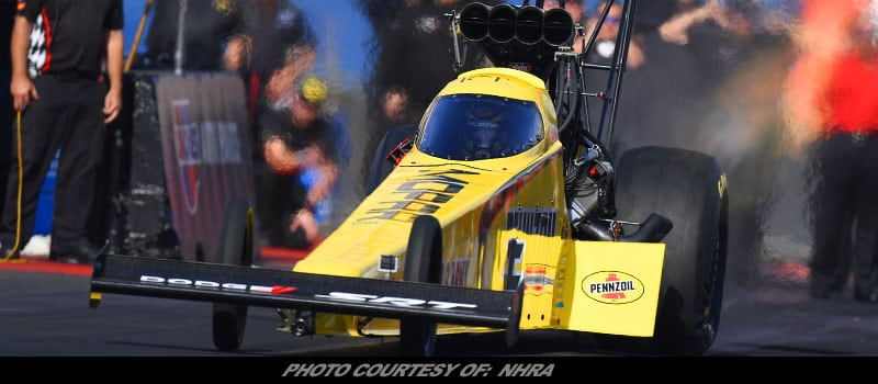 Pritchett Unofficially Fastest Top Fuel Dragster In NHRA Nitro