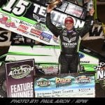 Donny Schatz Drives To Victory During Night Two Of DIRTcar Nationals At Volusia