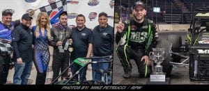 Jankowiak Wins Indoor TQ Midget Finale In Albany; Bonsignore Named 2018 Series Champion