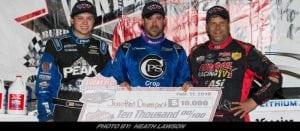Davenport Rules Lucas Oil Late Model Dirt Series Feature At Bubba Raceway Park Sunday