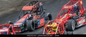 Tyler Thompson, Team Tapout End Indoor Auto Racing Championship On A High Note