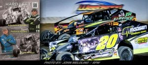 Jacobs Press To Continue As Official Printer of Weedsport's Hard Left Racing Program