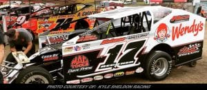 Tough First Night In Florida At DIRTcar Nationals For Kyle Sheldon & Team 17
