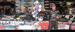 McDowell Charges From 15th To Victory In DIRTcar Nationals WoO Late Model Feature