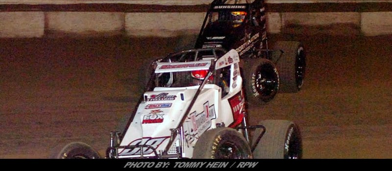 Tyler Courtney Takes Night Two Of Usac Winter Games At Bubba Raceway