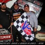 Aaron Reutzel Earns First World Of Outlaws Win In Thunderbowl Thriller