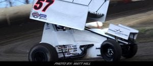 Scelzi Sets Quick Time & Nets 11th-Place Result With World of Outlaws In Tulare