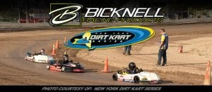 Bicknell Racing Products Partners With New York Dirt Kart Series