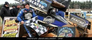 Montieth Wins Last Lap Thriller At Lincoln; Takes 56th Career Win At Speedway