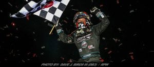 Cory Eliason Leads All 30-Laps At Stockton; Scores First Career World Of Outlaws Sprint Car Series Win