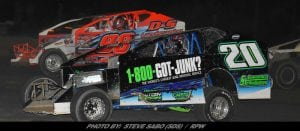 Tyler Thompson Scores Top-Ten Finish In Short Track Super Series Sportsman Debut