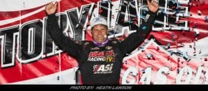 Last Lap Pass Lifts Pearson To Lucas Oil Late Model Series Win At Boyd's Speedway