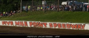 Busy Week Ahead For Five Mile Point Speedway