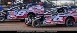 S&W Service Centre New 358 Modified Division Sponsor At Merrittville