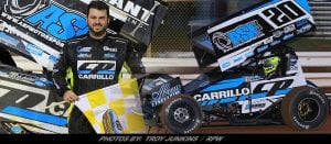 Ryan Taylor Scores Second Career Williams Grove 410 Sprint Win Friday Night