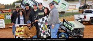 Tyler Esh Scores Career First 410 Sprint Win At Lincoln Speedway