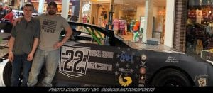 Woodhull Drivers DuBois, Talada Using Race Cars / Mall Show To Spread Awareness