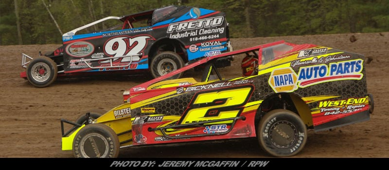 Ny Ton Lake New York Driver Nick Fretto Is The First To Officially Register For King Of Dirt Racing Sportsman Modified Compeion During