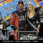 Dewease Wins Hinnershitz Memorial All Star Sprint Event At Williams Grove From DEEP In Field