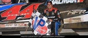 Stewart Friesen Is The 'Money Maker' Saturday In Grandview's Bruce Rogers Memorial