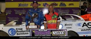 Davenport Scores $20K King Of the Commonwealth At Virginia Motor Speedway