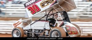 Haas Earns Tommy Hinnershitz Start, Back In Top-Five At Lincoln Speedway