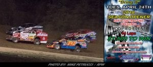 """Albany-Saratoga's """"Bring It"""" Opener Postponed; Pushed To Tuesday, April 24th"""