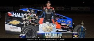 Stewart Friesen Takes 'Battle At The Bay' At Georgetown Speedway