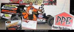 """""""Prime Time"""" Scott Ferrier Takes Opening Night Checkers On Cold Evening At Accord"""