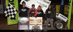 Jac Haudenschild Wins All Star Thriller At Attica Raceway Park