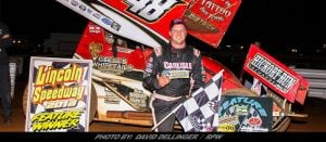 Dietrich Is The Man Saturday Night At Lincoln Speedway