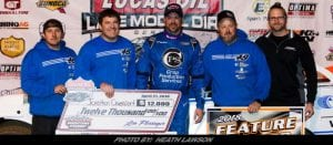 Dominant Davenport Rules Lucas Oil Late Model Dirt Series Race At Hagerstown