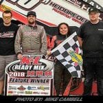 Sam Hafertepe, Jr. Lands First Win Of 2018 With NRA Sprint Invaders At Eldora
