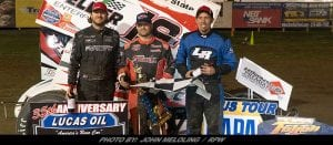 Kinney Starts 2018 Strong; Wins ESS Opener At Fulton Speedway