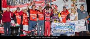 Bobby Pierce Scores Emotional Lucas Oil Late Model Dirt Series Win At Tri-City