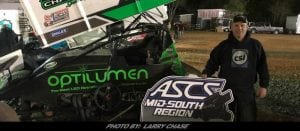 Mark Smith Scores With ASCS Mid-South At Tennessee National Raceway