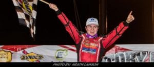 Pierce Goes Back-To-Back With Lucas Oil Late Model Dirt Series In Illinois