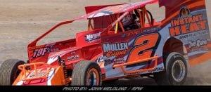 Billy Van Pelt Takes Checkers Saturday At Woodhull Raceway